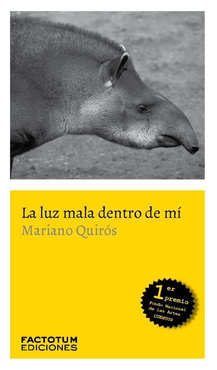 LUZ MALA DENTRO DE MI,LA: portada