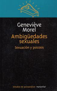 AMBIGUEDADES SEXUALES: portada
