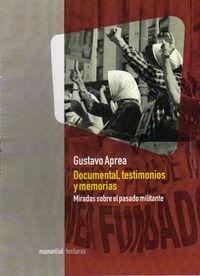 Documental, testimonios y memorias: portada