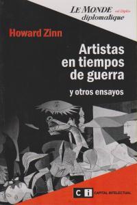 ARTISTAS EN TIEMPOS DE GUERRA: portada
