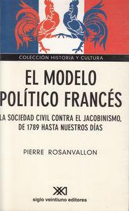 MODELO POLITICO FRANCES,EL: portada