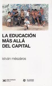 EDUCACION MAS ALLA DEL CAPITAL,LA: portada