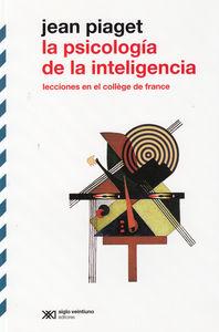 PSICOLOGIA DE LA INTELIGENCIA,LA: portada