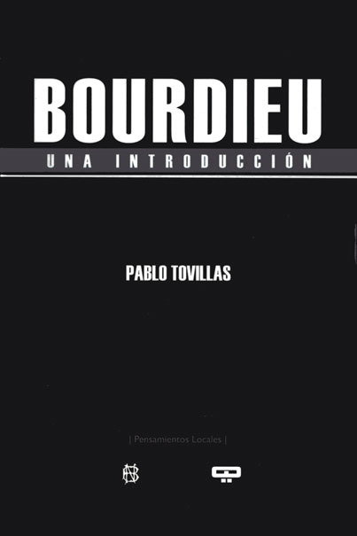 BORDIEU. Una introducción: portada