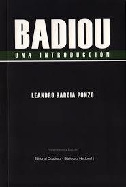 BADIOU. Una introducción: portada