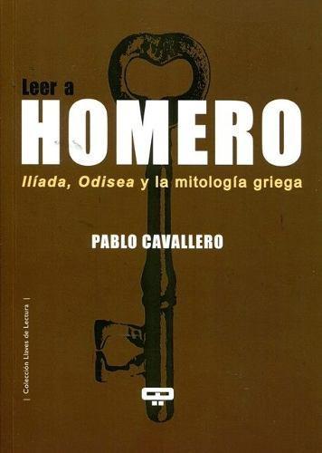 LEER A HOMERO: portada