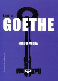 LEER A GOETHE: portada