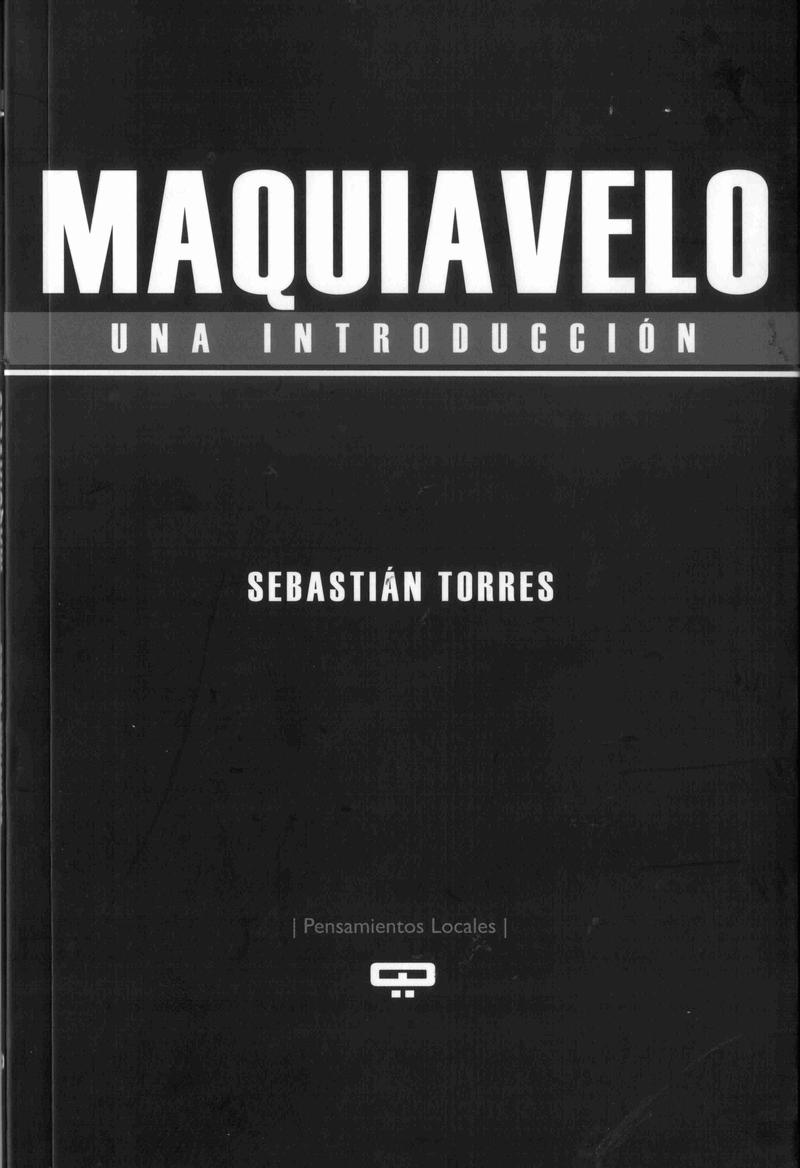 MAQUIAVELO. Una introducción: portada