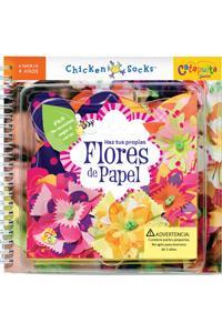 Flores de papel: portada