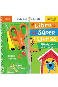 Libro de las súper tijeras, El: portada