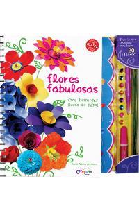 Flores fabulosas: portada