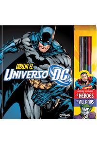 Dibuja el universo DC: portada
