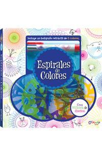 Espirales de colores - Nuevo formato: portada