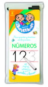 Abremente para escribir y borrar - Números: portada