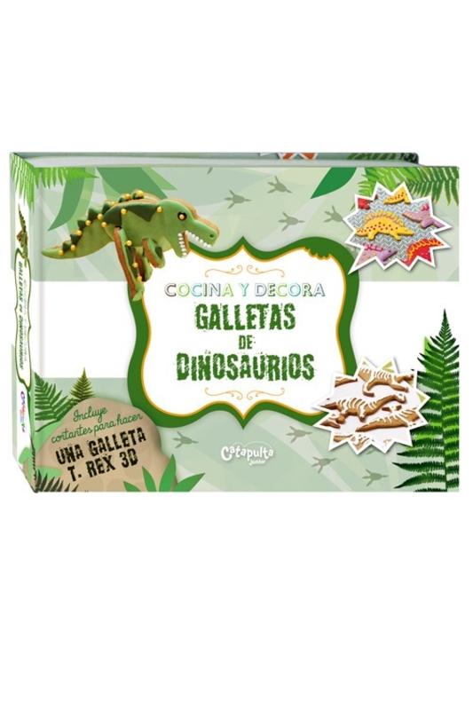 Cocina y decora Galletas de Dinosaurios: portada