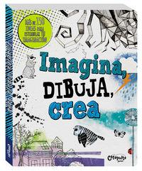 Imagina, dibuja, crea: portada