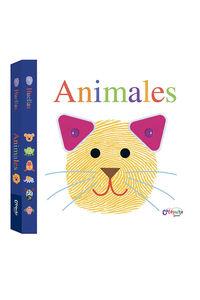 Huellas - Animales: portada