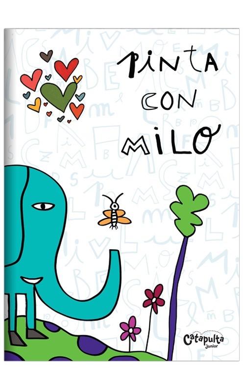 Pinta con Milo: portada
