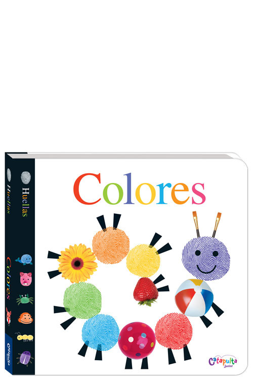 Huellas - Colores: portada