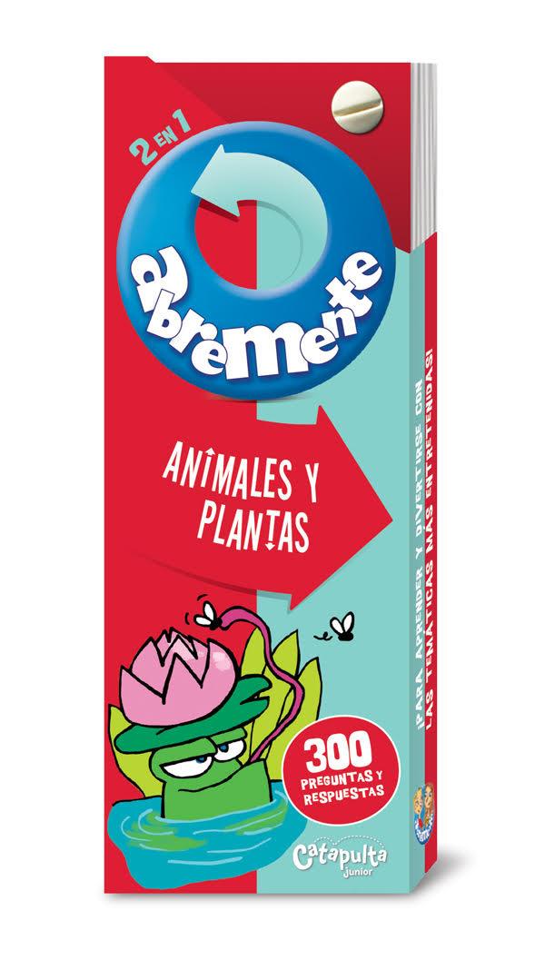 Abremente - Animales y Plantas: portada