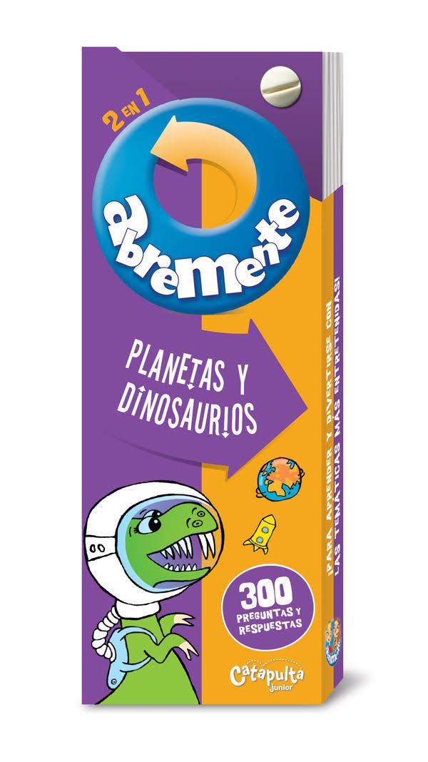 Abremente - Planetas y Dinosaurios: portada