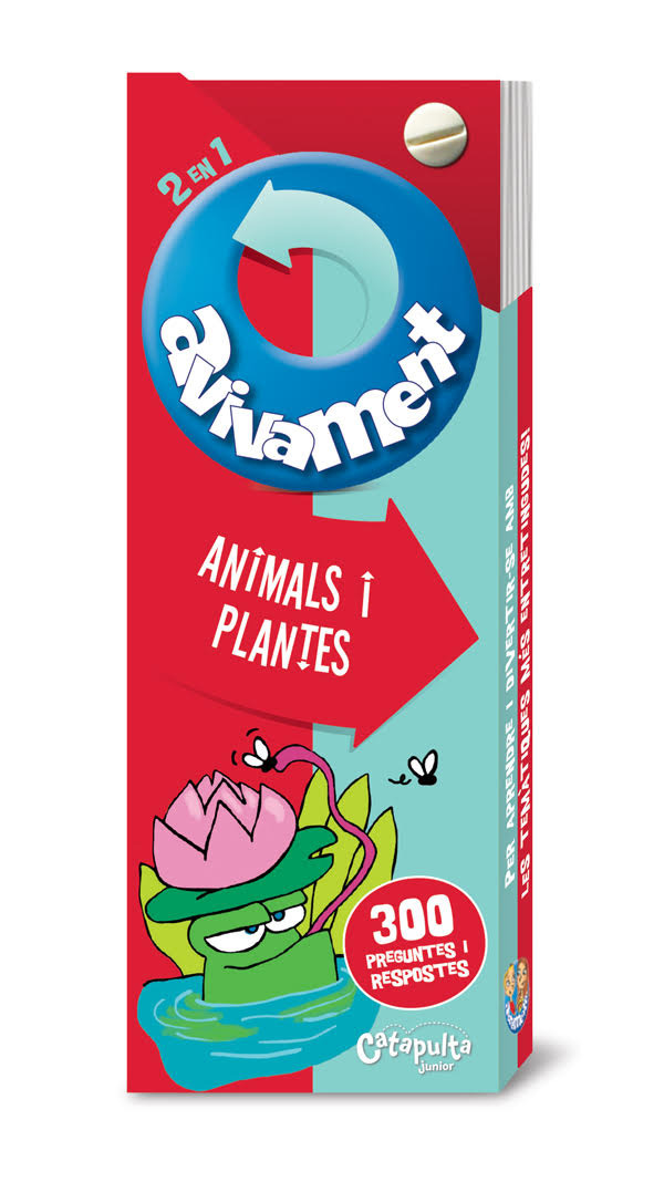 Avivament - Animals i Plantes: portada
