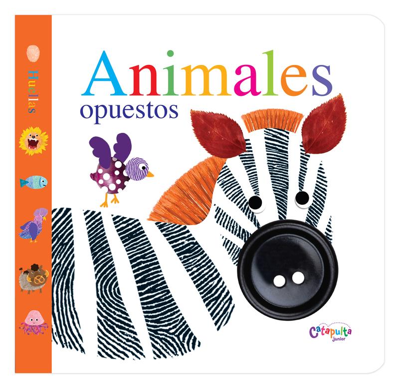 ANIMALES OPUESTOS (Huellas): portada