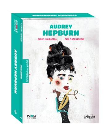 AUDREY HEPBURN - PUZZLE BOOK: portada