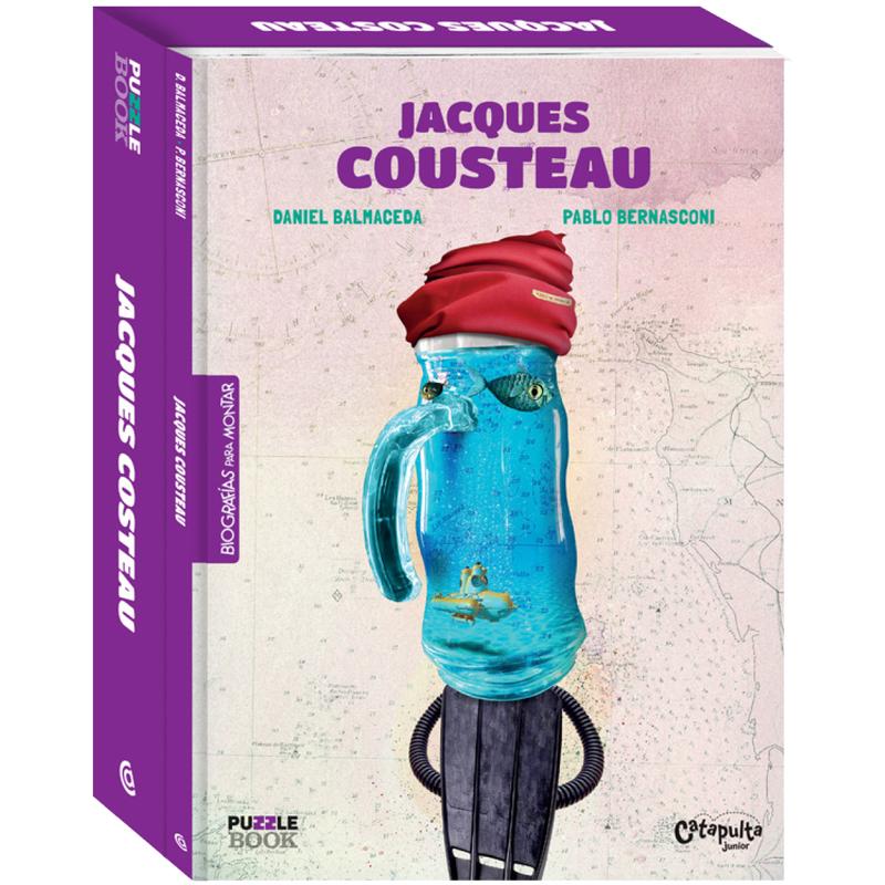 JACQUES COUSTEAU: portada