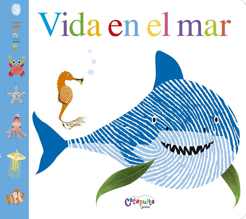 VIDA EN EL MAR (Huellas): portada