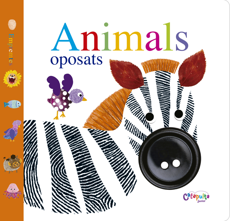 ANIMALS OPOSATS (Empremtes): portada
