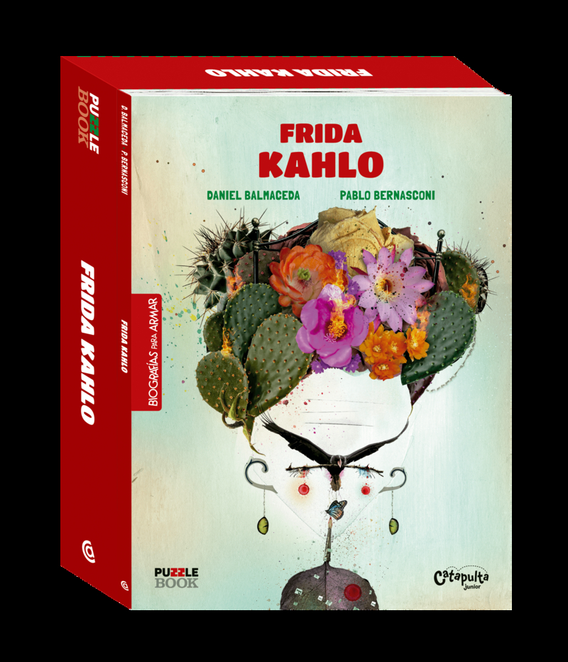 FRIDA KHALO- PUZZLE BOOK: portada