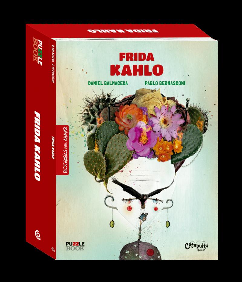 FRIDA KHALO - PUZZLE BOOK: portada