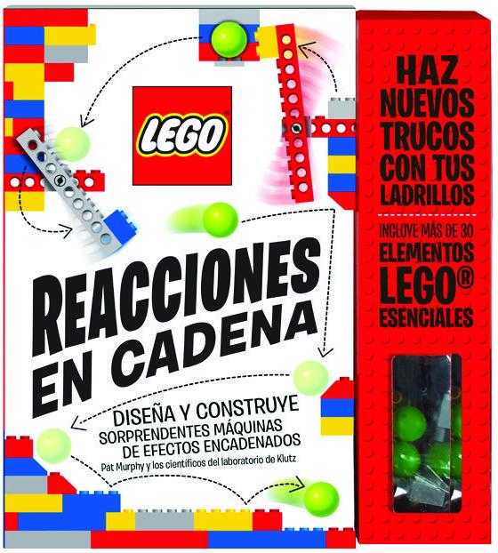 LEGO Reacciones en cadena: portada
