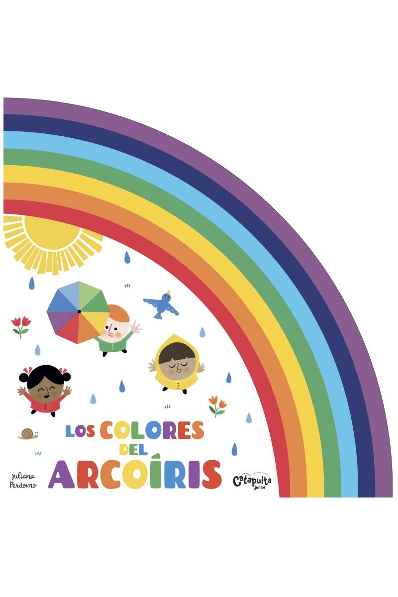 LOS COLORES DEL ARCO IRIS: portada