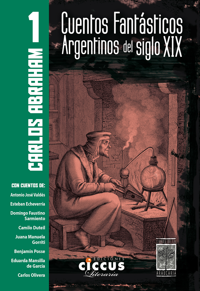 CUENTOS FANTÁSTICOS ARGENTINOS DEL SIGLO XIX - Tomo 1: portada