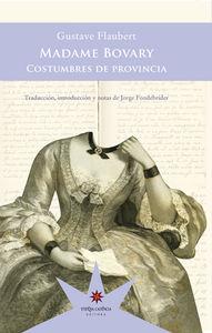 Madame Bovary: portada