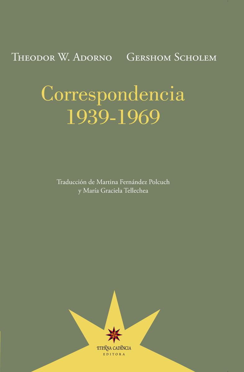 Correspondencia 1939-1969: portada