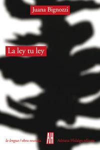 LEY TU LEY: portada