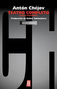 TEATRO COMPLETO (Incluye PLATÓNOV): portada