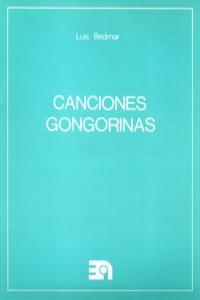 CANCIONES GONGORINAS: portada
