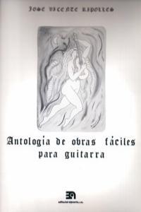 ANTOLOGIA DE OBRAS FACILES PARA GUITARRA: portada