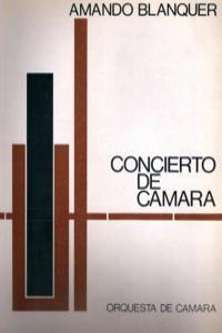 CONCIERTO DE CAMARA: portada
