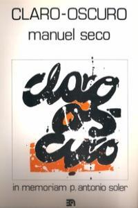 CLARO OSCURO: portada