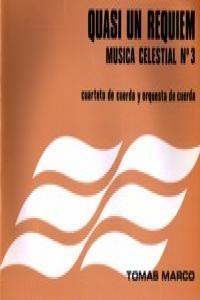 QUASI UN REQUIEM (MUSICA CELESTIAL Nº 3): portada