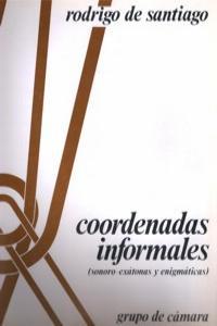 COORDENADAS INFORMALES: portada