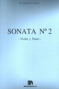 SONATA Nº 2 (VIOLIN Y PIANO): portada