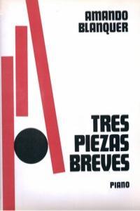 TRES PIEZAS BREVES PARA PIANO: portada