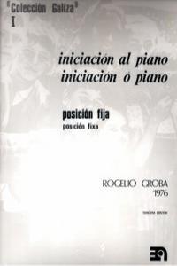 INICIACION AL PIANO CANTIGA Nº 1: portada