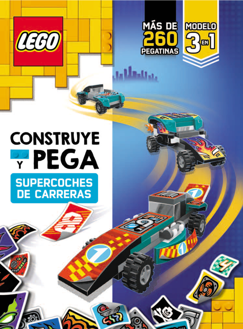 LEGO. CONSTRUYE Y PEGA: portada